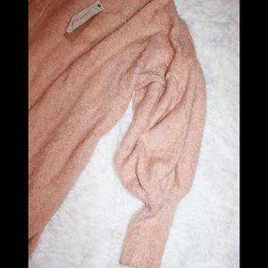 Mustard Seed Sweaters - Long-line Fuzzy Sweater Cardigan